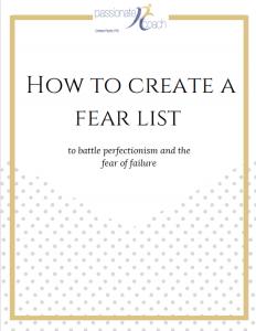 fear list