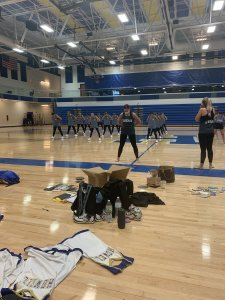 Francis Howell dance team